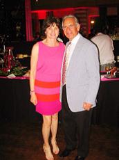 Harold and Cindi Goldfine