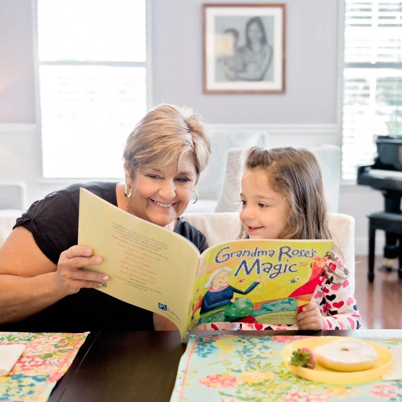 PJ grandma reads